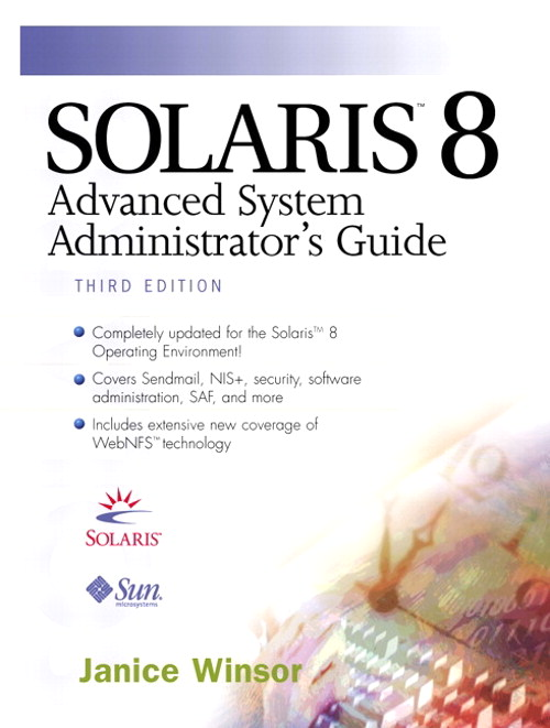 Solaris 8 Advanced System Administrator's Guide, 3rd Edition
