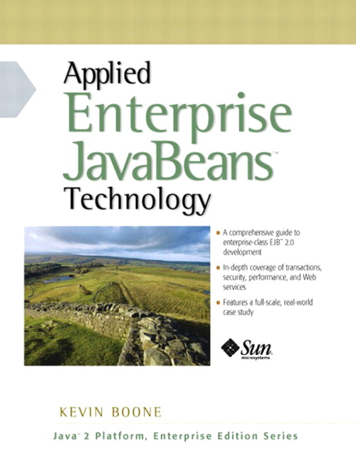 Applied Enterprise JavaBeans Technology