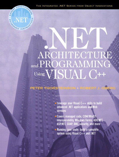 .NET Architecture and Programming Using Visual C++