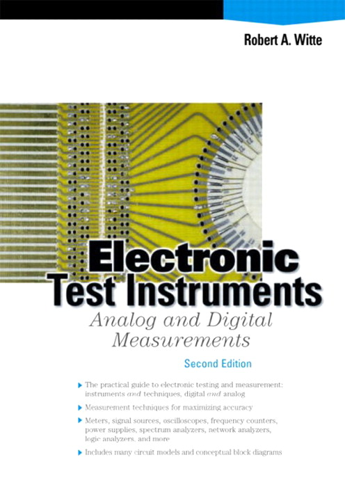 Electronic Test Instruments: Analog and Digital Measurements, 2nd Edition