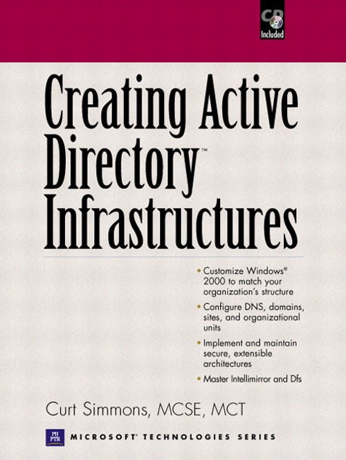 Creating Active Directory Infrastructures