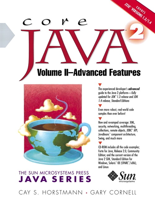 Core Java™ 2, Volume II--Advanced Features, 5th Edition