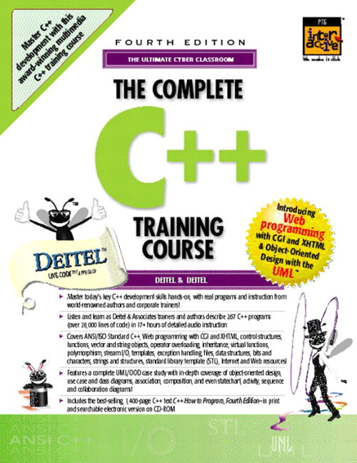 Complete C++ Training Course, The, 4th Edition
