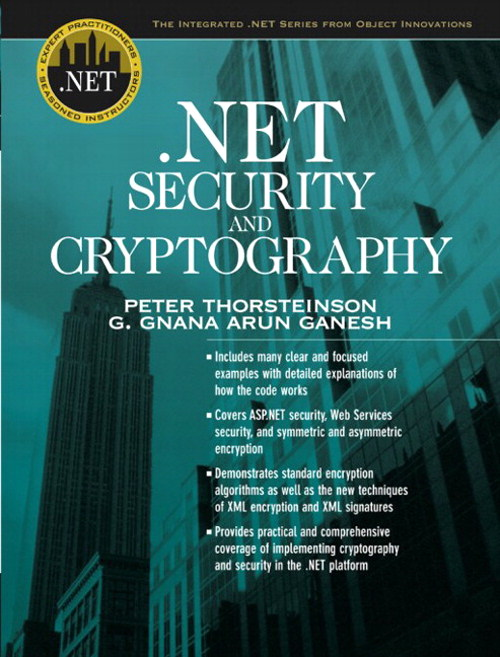 .NET Security and Cryptography