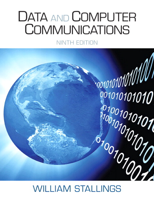 Data and Computer Communications, 9th Edition