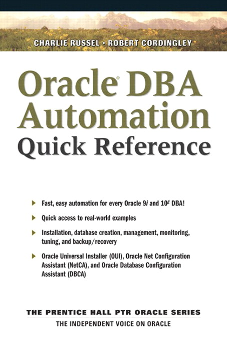Oracle DBA Automation Quick Reference