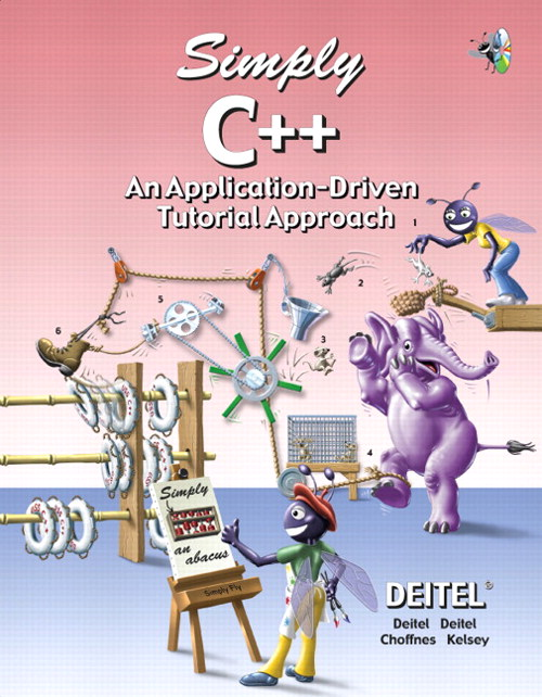 Simply C++: An Application-Driven Tutorial Approach
