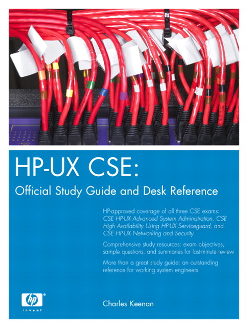 HP-UX CSE: Official Study Guide and Desk Reference