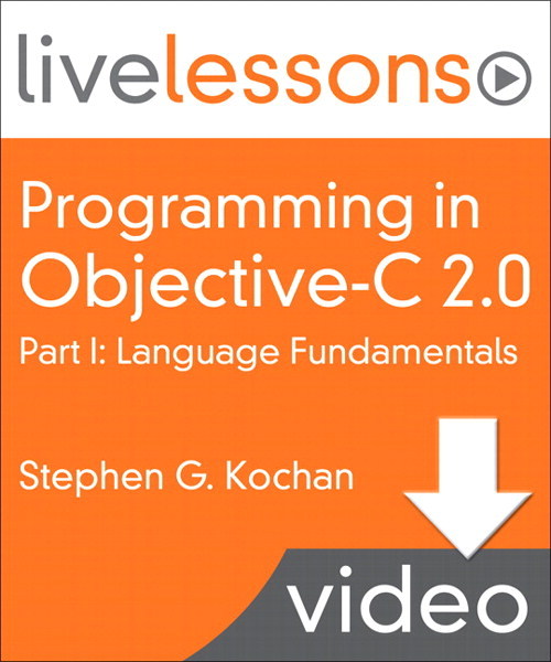 Part I - Lesson 1: Getting Started in Objective-C, Video Download