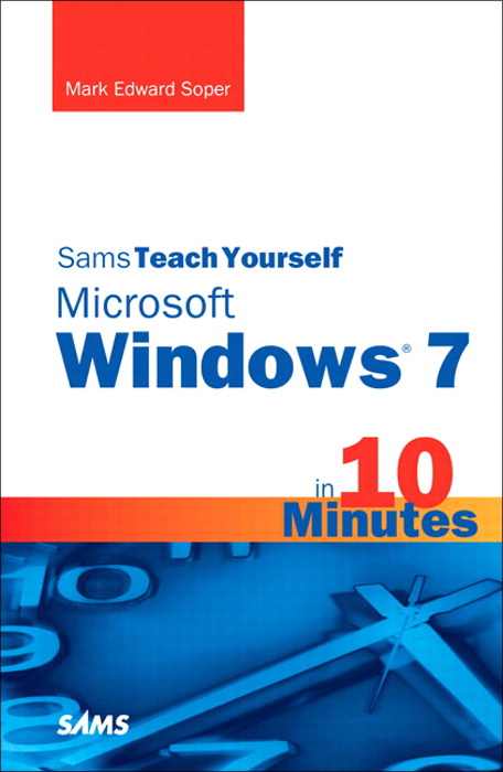 Sams Teach Yourself Microsoft Windows 7 in 10 Minutes, Portable Documents