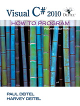 Visual C# 2010 How to Program Cover