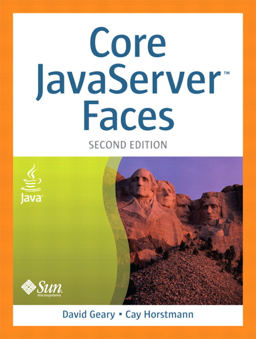 "Core JavaServer"" Faces, (Adobe Reader), 2nd Edition"