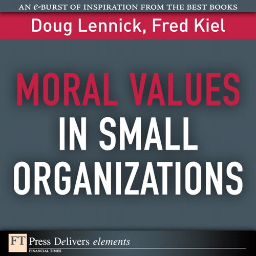 Moral Values in Small Organizations
