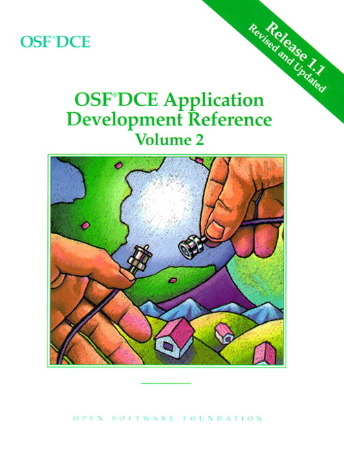 OSF DCE Application Development Reference Volume II, 2nd Edition