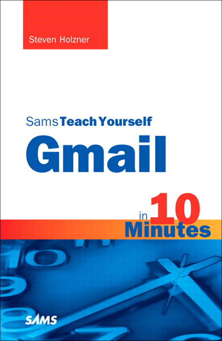 Sams Teach Yourself Gmail in 10 Minutes, Portable Documents