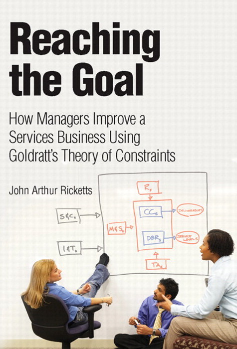 Reaching The Goal: How Managers Improve a Services Business Using Goldratt's Theory of Constraints (paperback)