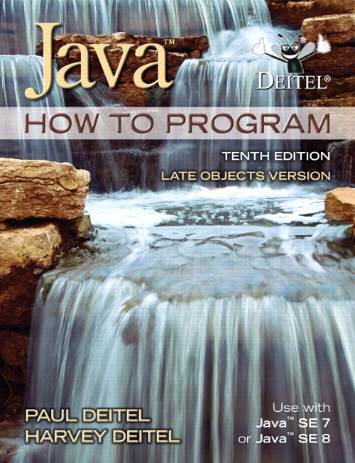 Java How To Program (late objects), 10th Edition