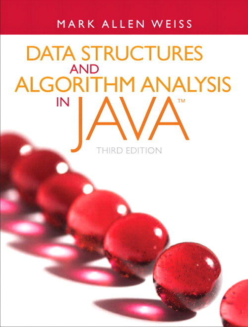 Data Structures and Algorithm Analysis in Java, 3rd Edition