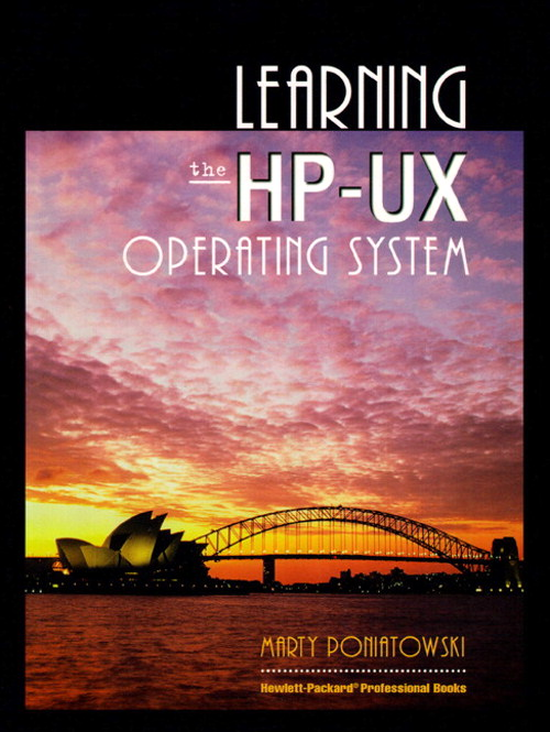 Learning the HP-UX Operating System