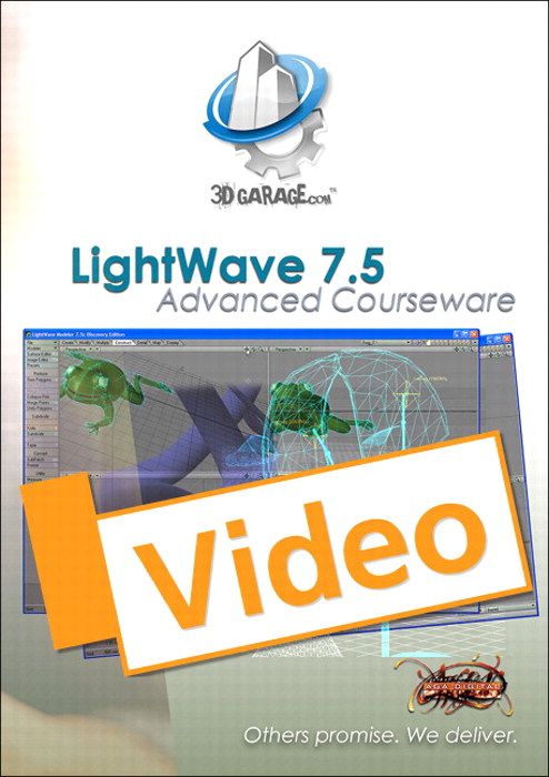 LightWave 7.5 Advanced Courseware, Streaming Video