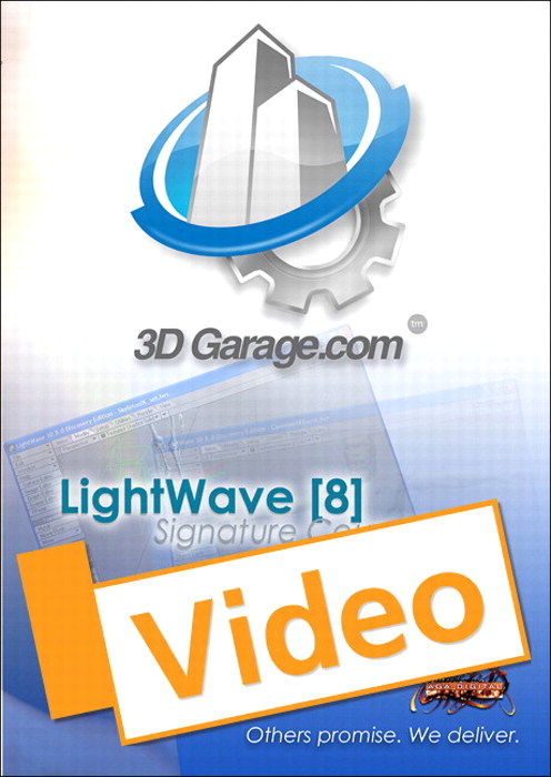LightWave v8 Signature Courseware, Streaming Video