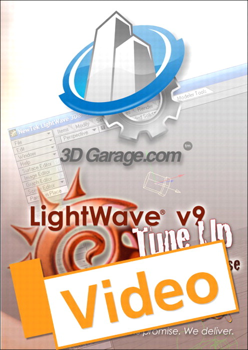 LightWave v9 Tune Up, Streaming Video