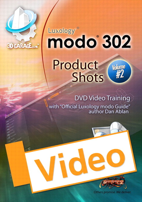 modo Product Shots, Vol. 2, Streaming Video