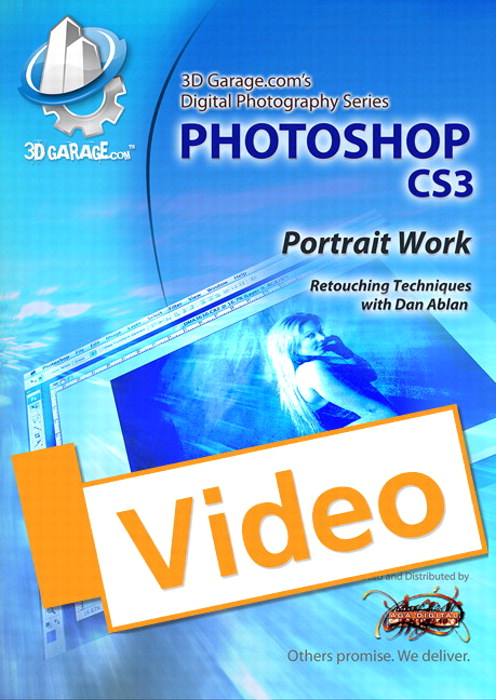 Photoshop CS3 Portrait Work, Streaming Video