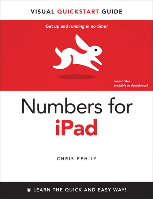 Numbers for iPad: Visual QuickStart Guide, eBook-Multiformat