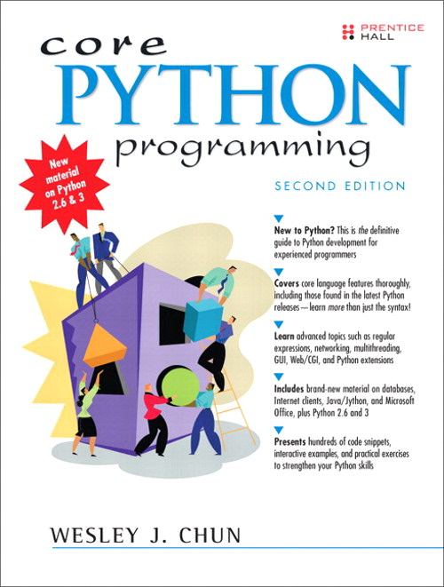 Core Python Programming,, 2nd Edition