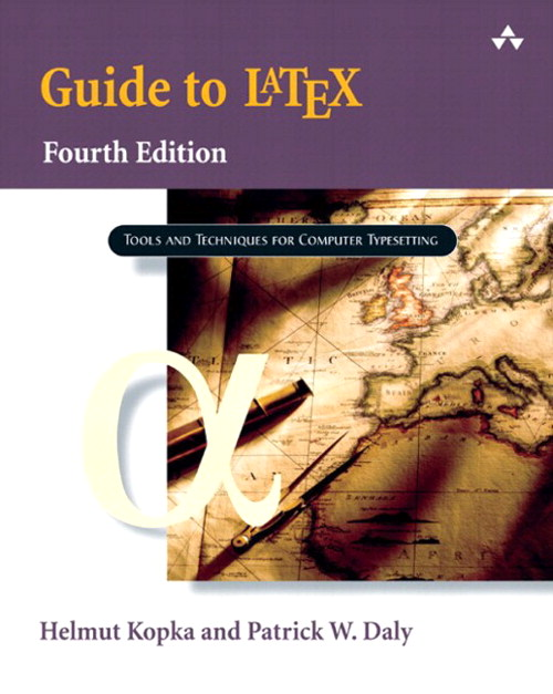 Guide to LaTeX,, 4th Edition
