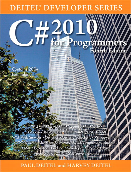 C# 2010 for Programmers, 4th Edition