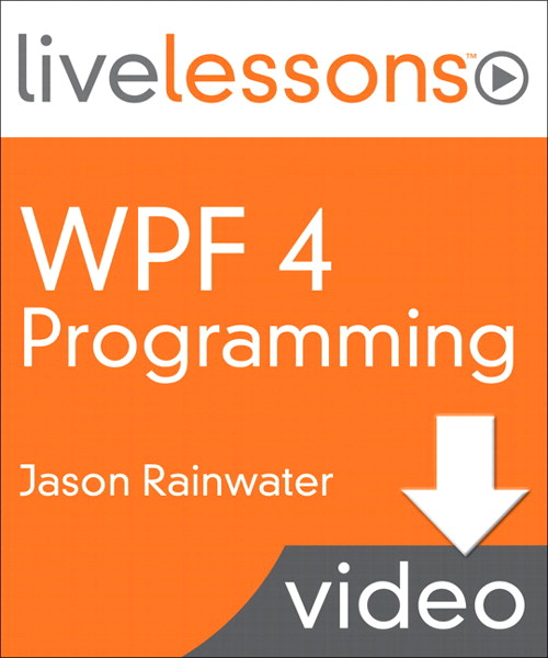 Lesson 1:  Introduction to WPF, Downloadable Version