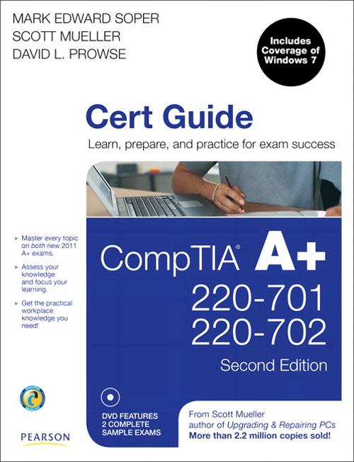 CompTIA A+ 220-701 and 220-702 Cert Guide, 2nd Edition