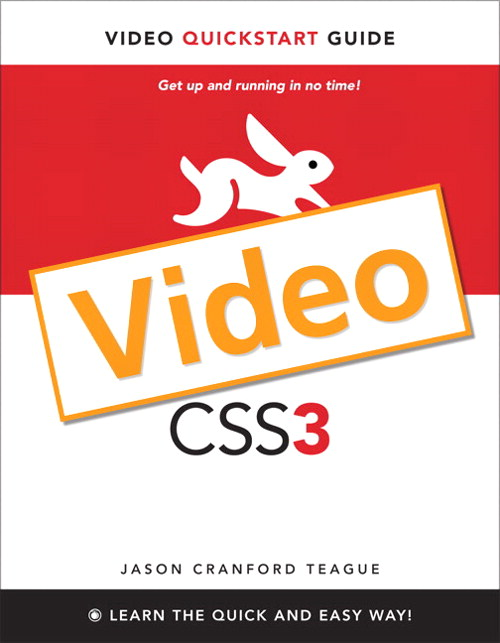CSS3: Video QuickStart Guide, Online Video, 5th Edition