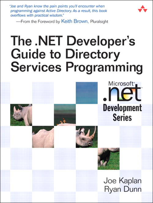 .NET Developer's Guide to Directory Services Programming, The