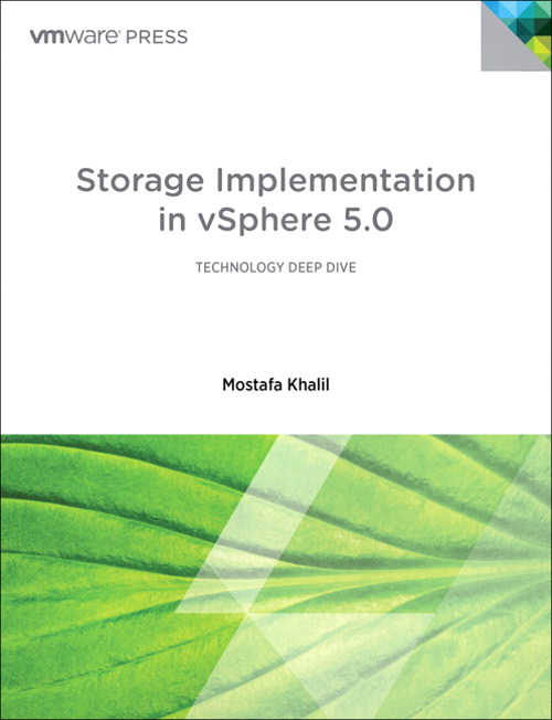 Storage Implementation in vSphere 5.0