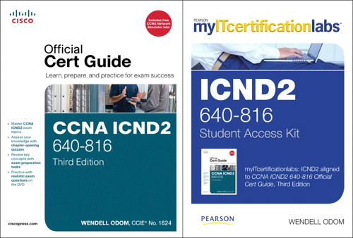 CCNA ICND2 Official Cert Guide with MyITCertificationlab Bundle (640-816)