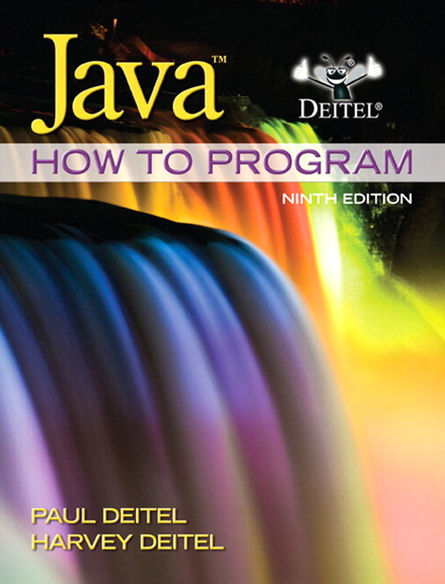 Java How to Program (early objects) plus MyProgrammingLab with Pearson eText -- Access Card, 9th Edition