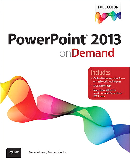 PowerPoint 2013 on Demand