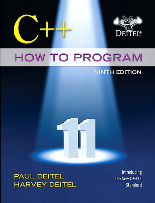 C++ How to Program (Early Objects Version), 9th Edition