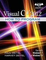 Visual C# 2012 How to Program Cover