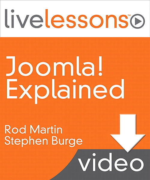 Lesson 1: Joomla! Content Management Explained