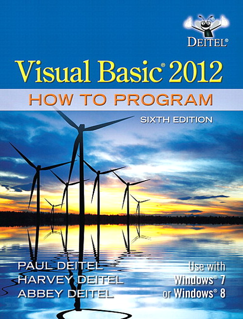 Visual Basic 2012 How to Program Cover