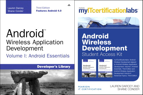 MyITCertificationlab: Android Wireless Development Bundle v5.9, 3rd Edition