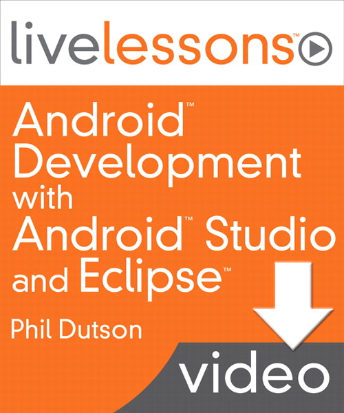 Lesson 15: Creating an Android project using the Eclipse plugin