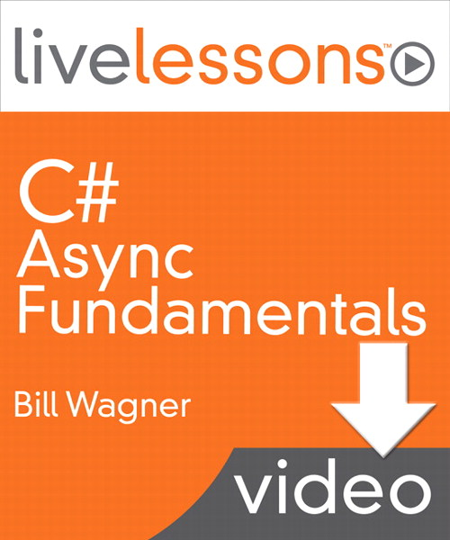 C# Async Fundamentals LiveLessons (Video Training), Downloadable Version