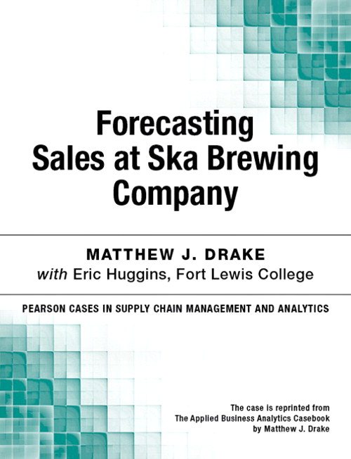 Forecasting Sales at Ska Brewing Company