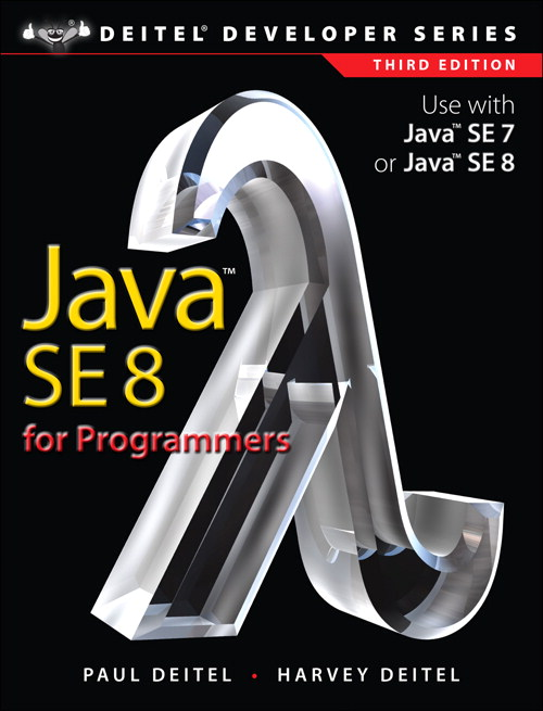 Java SE8 for Programmers, 3rd Edition
