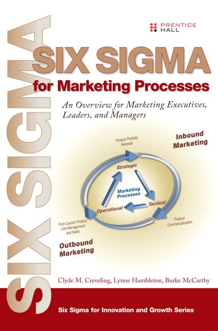 Six Sigma for Marketing Processes : An Overview for Marketing Executives, Leaders, and Managers (paperback)
